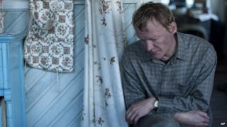 Aleksey Serebryakov as Kolya in a scene from the film Leviathan