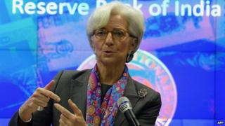 IMF chief Christine Lagarde has urged India to deepen economic reforms