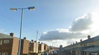 Streetlight in Ashington