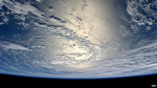 Earth's oceans from space