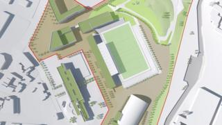 Artist's impression of the new Olympic Legacy Park on the site of Don Valley