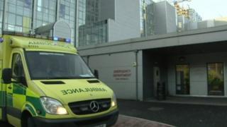Emergency department of Royal Victoria Hospital, Belfast