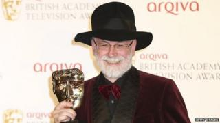 Sir Terry Pratchett, pictured in 2012