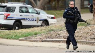 Police officer in Longmont, Colorado