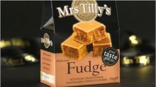 Mrs Tilly's fudge
