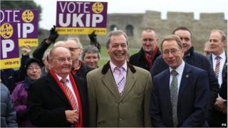 UKIP councillors in Rochester