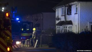 Whitchurch house fire