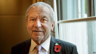 """Lord Sugar """"tried to return fuel payment"""""""