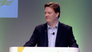 Danny Alexander delivered a speech to the Scottish Liberal Democrat Party's spring conference