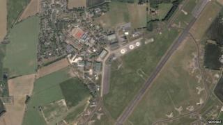 Scottow Enterprise Park on the site of the former RAF Coltishall base