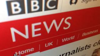 BBC News site in 2015