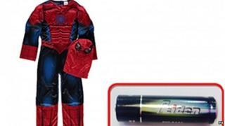 Children's Spider-Man suit