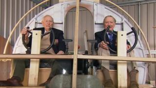 Leslie Kershaw and Ken Plowman, Jet Age Museum, Gloucestershire