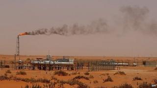 Saudi Aramco oilfield