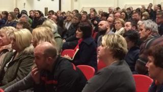 Meeting in Sir Thomas Picton School