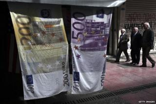 Euro towels in Greece