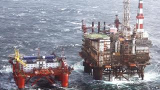BP Magnus production platform in the North Sea
