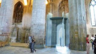Artist's impression of new entrance at Gloucester Cathedral