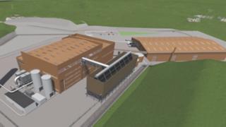 Artist's impression of new facility