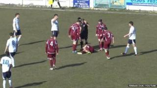 Weymouth v Bedford match