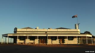 Birdsville Hotel in central west Queensland