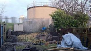 Water tower in Moortown Leeds