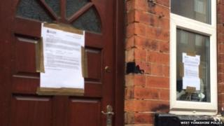Closure notices over house party