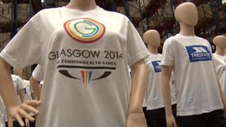 Trespass Glasgow 2014 uniforms