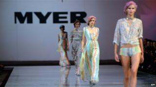 2015 Myer Spring-Summer Fashion launch in Sydney on August 7, 2014