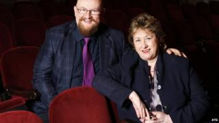 Howard Panter and Rosemary Squire