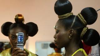 Nigerian fashion models