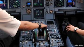 A320 cockpit