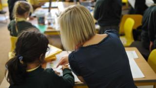 Anon teacher and pupil