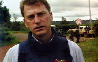 Mark Doyle in Rwanda at the time of the genocide
