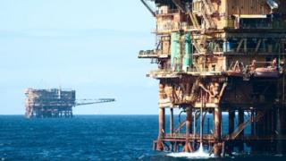 North Sea oilfield