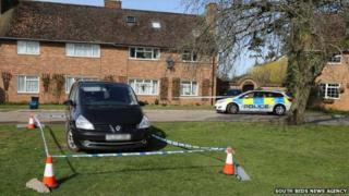 Wootton Hall Park murder