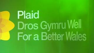 Plaid Cymru banner 2015