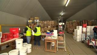 Children of Honduras Trust loading day