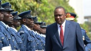 President Kenyatta (file photo)