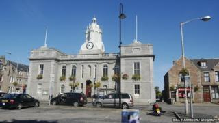 Inverurie town hall
