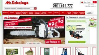 Mr Bricolage website