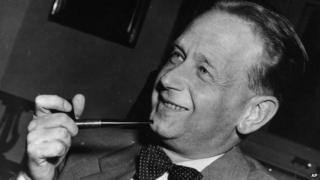 Picture of the former UN Secretary General Dag Hammarskjold