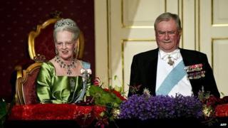 Queen Margrethe II and Prince Consort Henrik