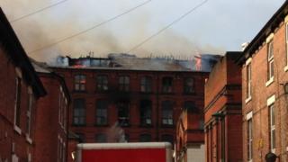 Player Street fire