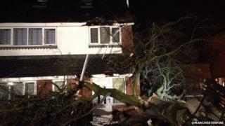 Worsley storm damage