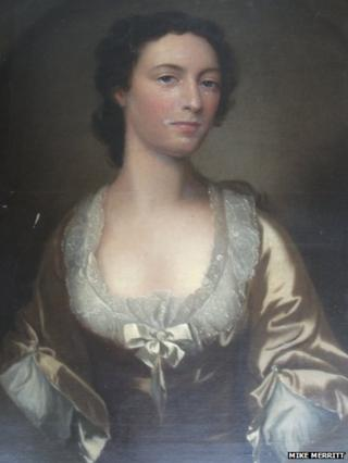 Painting thought to be of Flora Macdonald