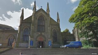 St Mary's Cathedral in Edinburgh's York Place