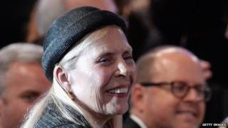 Recording artist Joni Mitchell in the audience during the Pre-GRAMMY Gala 07 February 2014