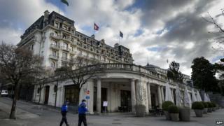 Lausanne's Beau-Rivage Palace