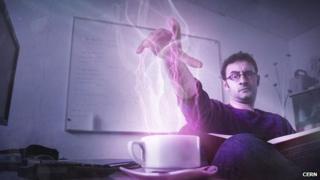 Cern scientist Valerio Rossetti